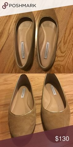 DVF nude flats Size 8.5 Diane Von Furstenberg Shoes Flats & Loafers