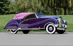 1947 Rolls-Royce Silver Wraith Convertible Coachwork by J.S. Inskip. Chassis: WYA26