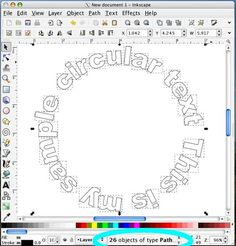 Circular text in WordArt in MS Word (used to be much easier than it is now). Tutorial shows you how to export to import into Design Space Silhouette School, Silhouette Cutter, Silhouette Machine, Silhouette Design, Silhouette America, Silhouette Files, Silhouette Cameo Shirt, Inkscape Tutorials, Cricut Tutorials