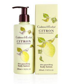 Lotiune de Corp Citron #cosmetice #cadouri #cadourifemei #crabtreeevelyn