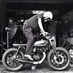 Honda CG125 Honda Cg125, Cafe Racing, Bike Photo, Café Racers, Kustom, Scrambler, Bikers, Bobber, Ducati