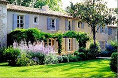 Vicki Archer's home, Mas de Berard, a 17 century farmhouse, Cote de Texas, Provence