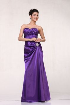 New Elegant Long Formal Classic Prom Bridesmaids Dress