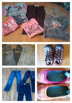 """How to sell children's clothing and list in """"lots"""". Step-by-step instructions and example. Examples of sorting clothing for listing on eBay based on style, gender and size."""