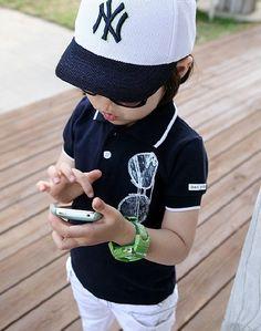 cool kids polo shirt toddler boys