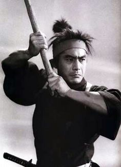 Miyamoto Musashi (宮本武蔵) 1584-1645, Japanese Great Swordsman ■ACTOR: Mifune Toshiro (三船敏郎) 1920-1977, Japanese Actor