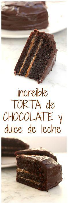 TORTA CHOCOLATE Y DDL