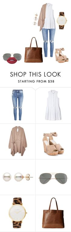 """"""""""" by lena1612 ❤ liked on Polyvore featuring H&M, Piamita, Jimmy Choo, J.Crew, Larsson & Jennings, SOREL and Lime Crime"""