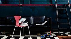 Munkegaard chair by Arne Jacobsen