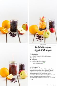 Easy Drink Recipes, Healthy Recipes, Healthy Food, Veggie Smoothies, Thing 1, Wild Blueberries, Morning Food, Breakfast Time, Detox Drinks