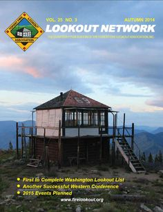 Stay in an old fire tower in the national parks