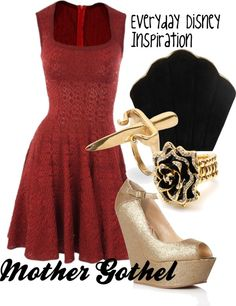 """""""Mother Gothel"""" by everydayinspiration1392 ❤ liked on Polyvore"""