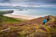 Rhossili, Cosheston and Rhosneigr named among the 30 best places to live by the sea in Britain - Wales Online