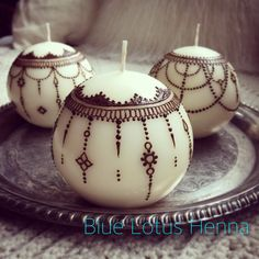 Chandelier globe candles for the holiday season. From Blue Lotus Henna, Portland, Oregon.