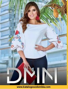 Dominio y Wom Campañas / 08 - 09 / 2018 Ruffle Blouse, Fashion Outfits, Long Sleeve, Sleeves, Tops, Women, Fashion Clothes, Motivational Quotes, Fashion Suits