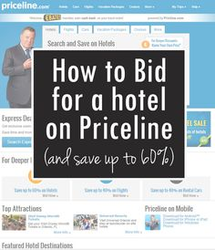 Everyday Reading: How to Bid for a Hotel on Priceline