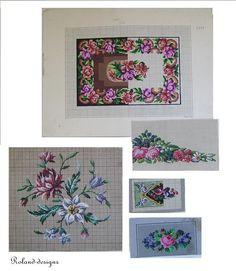 Berlin woolwork patterns cross stitch patterns. by rolanddesigns