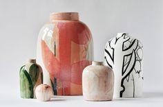 Вазы|Ceramics on Behance Ceramic Vase, Ceramic Pottery, Pottery Pots, Pottery Handbuilding, Ceramics Projects, Pottery Designs, Modern Ceramics, Ceramic Artists, Vases Decor