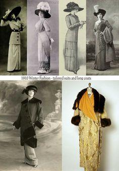 1910 Winter Fashion