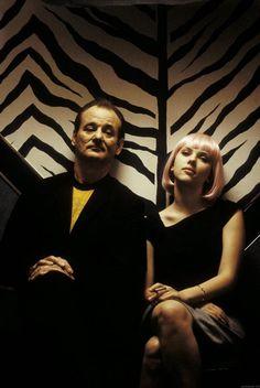 "Bill Murray & Scarlett Johansson in ""Lost in Translation"" directed by Sofia Coppola, 2003"