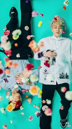 Exo-CBX Blooming Day #exo #cbx #bloomingday  °wallpaper°