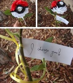 I choose you! Might have to make this next V-day.