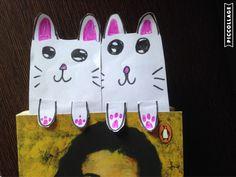 DIY Kawaii Cat Bookmark
