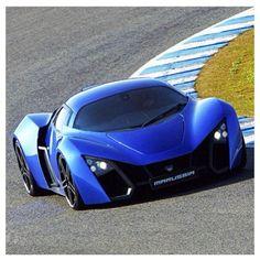 Dar blue Marrussia B2