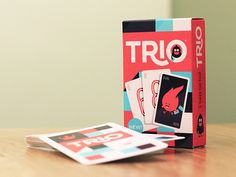 Trio Card Game - Finished Result