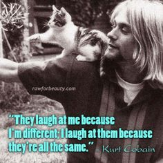 #Kurt #Cobain; They are all the same