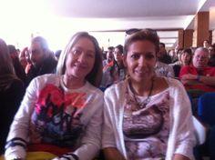 Con Josefina, afiliada de mi compañera Maribel y una mujer muy linda. Nos conocimos en el Liffe Extreme en Fátima y de vez en cuando charlamos por skype. Que bien conocer gente tan interesante.... http://yvolveraempezar.com/pinterest