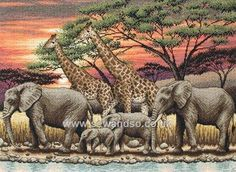 Shop online for African Sunset Cross Stitch Kit at sewandso.co.uk. Browse our great range of cross stitch and needlecraft products, in stock, with great prices and fast delivery.