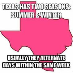 Sometimes they happen on the SAME day!!  Gotta <3 Texas!