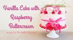Vanilla Cake with Raspberry Buttercream – 31 Wife In Training Raspberry Buttercream, Buttercream Recipe, Vanilla Cake, Cakes, Cake Makers, Kuchen, Cake, Pastries, Torte