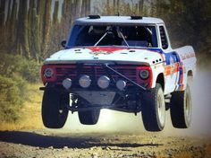 Mike Ryan and FireForce Racing Finish the NORRA Mexican 1000 in a 45-year-old F-100 #knfilters