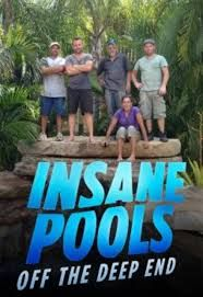 Jane woman werley on insane pool animal planet for Pool show on animal planet
