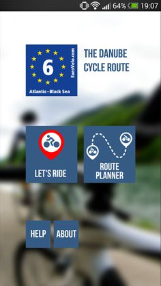 EuroVelo 6: Danube Cycle Route Mobile App – Danube Competence Center Cycle Route, I Want To Travel, Mobile App, Touring, Cycling, Things I Want, Europe, Biking, Bicycling