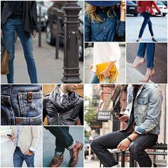Blog Caca Dorceles. 2015. Inspire-se: Jeans Street Style