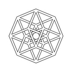'The Tesseract': representation of a four-dimensional
