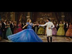 Cinderella 2015 - The Ball dance - YouTube