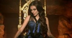"As a Valentine's Day treat for fans, U.K. pop singer Cher Lloyd premiered a new music video for her song, ""With Ur Love,"" on Thursday. The spellbinding clip features Lloyd and her girlfriends brewing up some trouble. See the video and read the full story here: www.examiner.com/article/cher-lloyd-is-a-seductive-enchantress-new-with-ur-love-music-video"