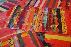 Mexican paper rugs