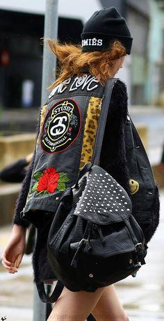 Mercedes-Benz Fashion Week Australia \ Street style ♥ na