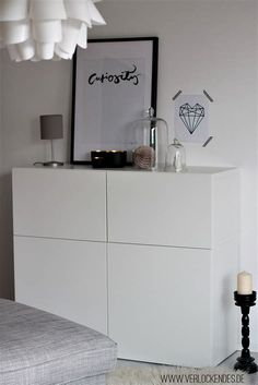 sideboard wei 223 hochglanz ikea ambiznes com Small Hallway Decorating, Decorating Ideas, Appartement Design, Ikea Living Room, Small Hallways, Home And Living, Decoration, Home Furniture, Home Goods