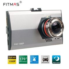 Car DVRs Dash Cams 3.0 Inch  FHD 1080P 170 Degree Vehicle  Video Registrar  In Car Camera Super Night Version DashCam Camera