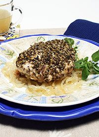 American Institute for Cancer Research (AICR) Health-e-Recipes: Za'atar Chicken