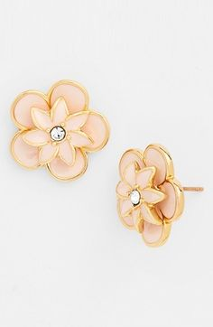 love these floral studs