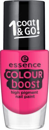 Nagellack colour boost high pig.nail paint pink 08 von Essence Cosmetics Preis 1,75€
