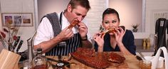 "Who hasn't watched Netflix's House of Cards and sighed with longing as Frank gnaws on Freddy's famous barbecue ribs? Chef Curtis Stone sympathizes, and that's why he decided to team up with Netflix to develop a homemade take on the ribs. ""Now we all"