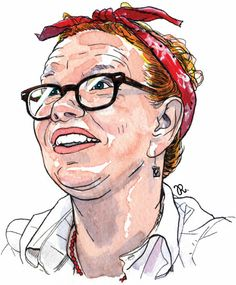 Lynda Barry is a cartoonist best known for her comic strip, Ernie Pook's Comeek, and What It Is.